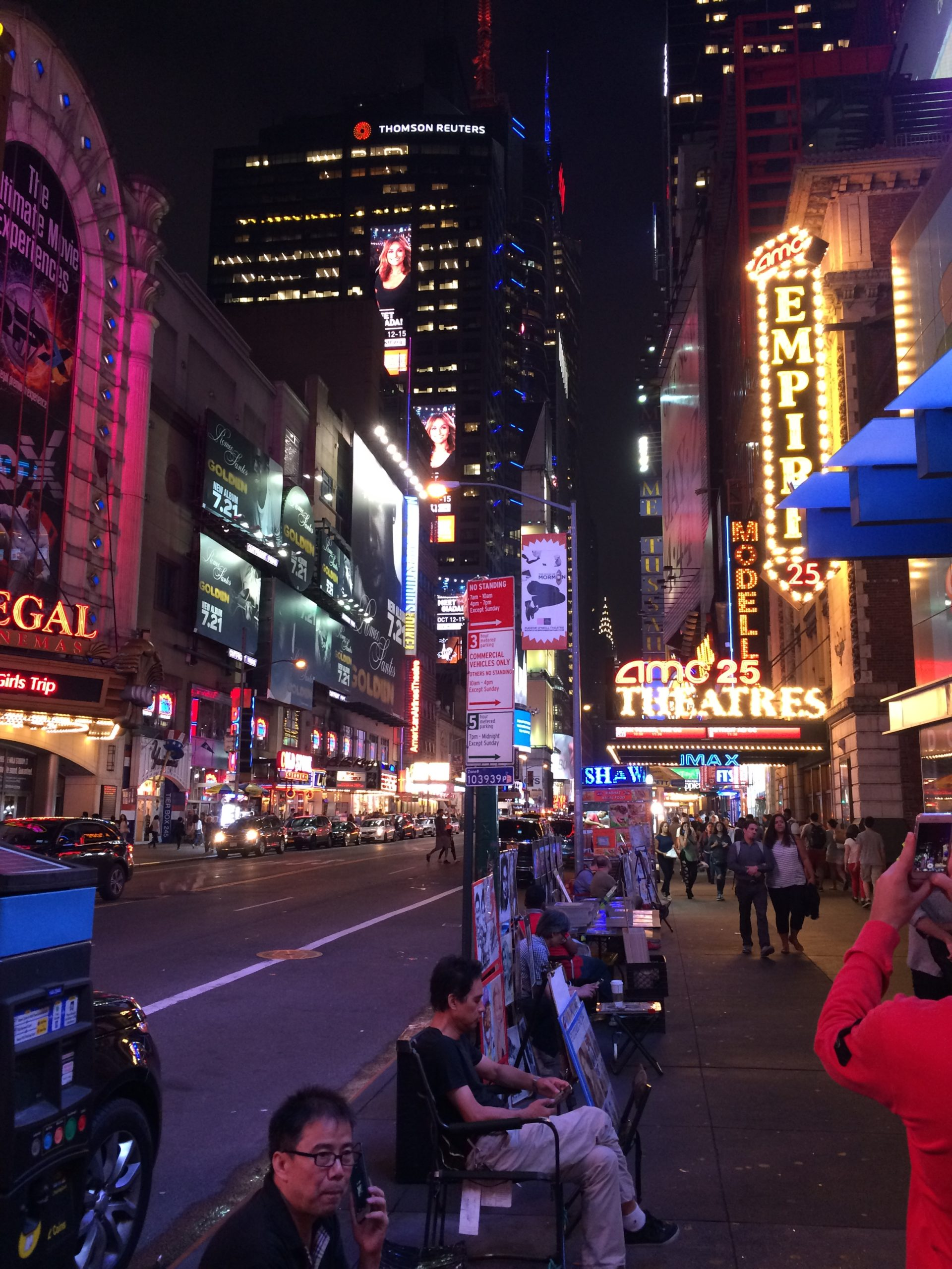 42nd Street night walk